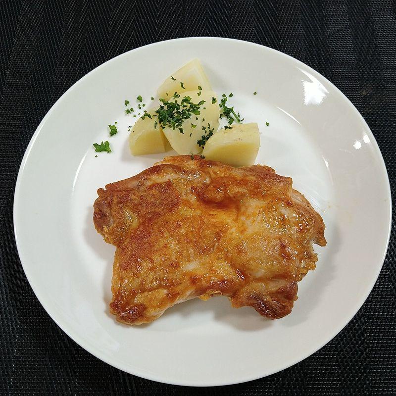 鶏肉のケチャップウスター焼き_完成