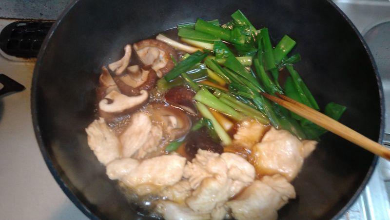 鶏の治部煮風_8