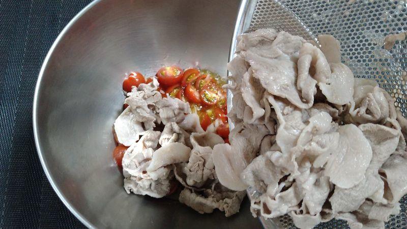 洋風トマト冷しゃぶ&野菜のコンソメスープ_5