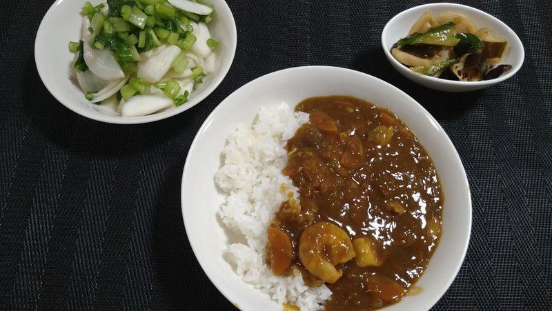 福神漬け_食卓