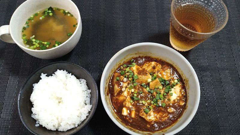 麻辣麻婆豆腐_食卓