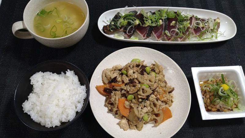 嫁いり豆腐_食卓