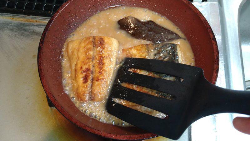 さばのみそ煮 ローリエ風味_7