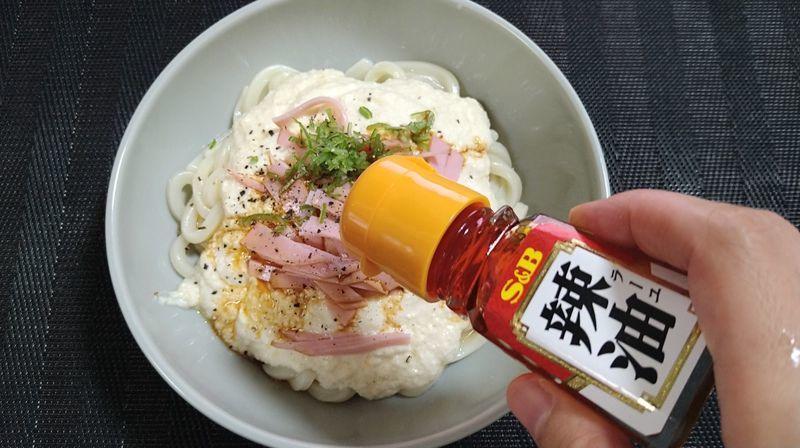 トロトロ豆腐ソースうどん_6