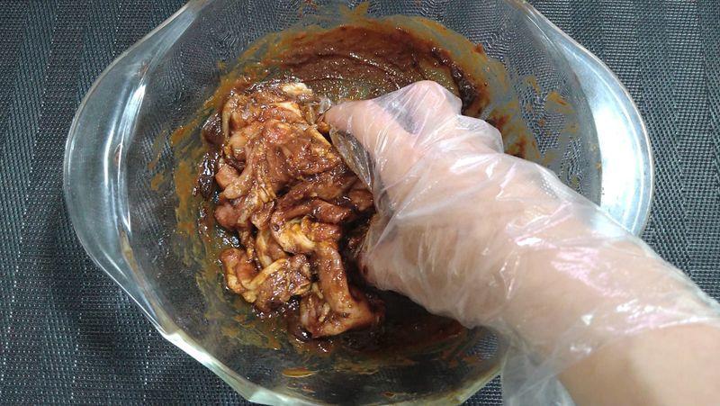 豚肉とえのきの梅みそ蒸し_5