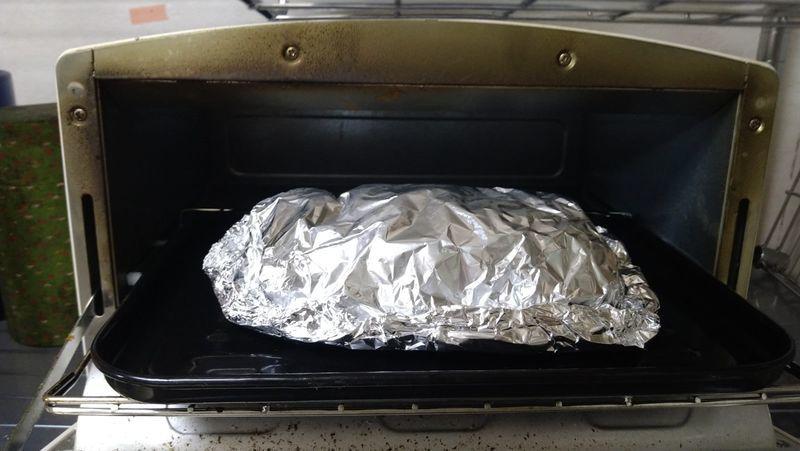 鶏の塩麹ホイル焼き_8