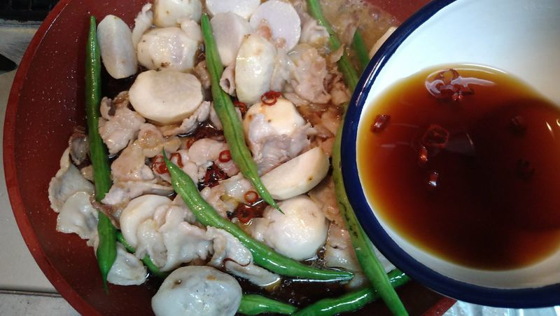 里芋と豚バラのオイスター煮_7