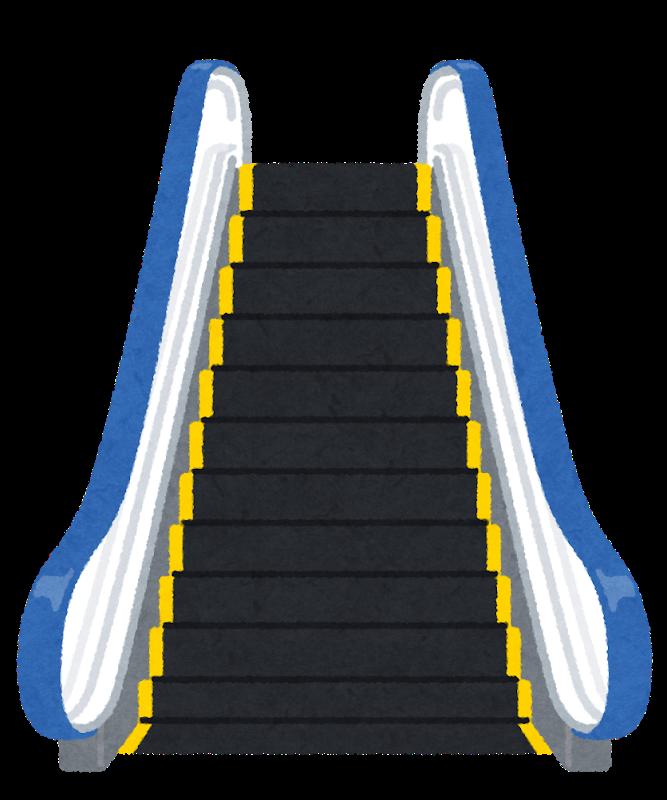 エスカレーター(健康アプリ)