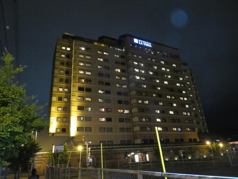 夜のラビスタ函館ベイ写真