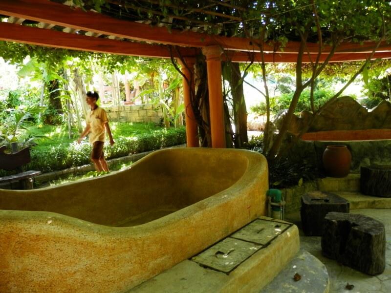 ガリーナスパダナンの浴槽