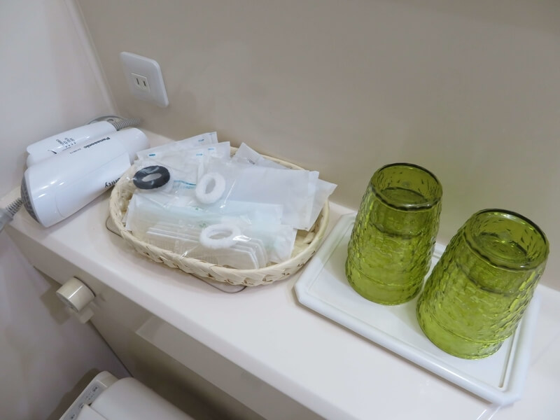 ホテルまほろば洗面所の写真