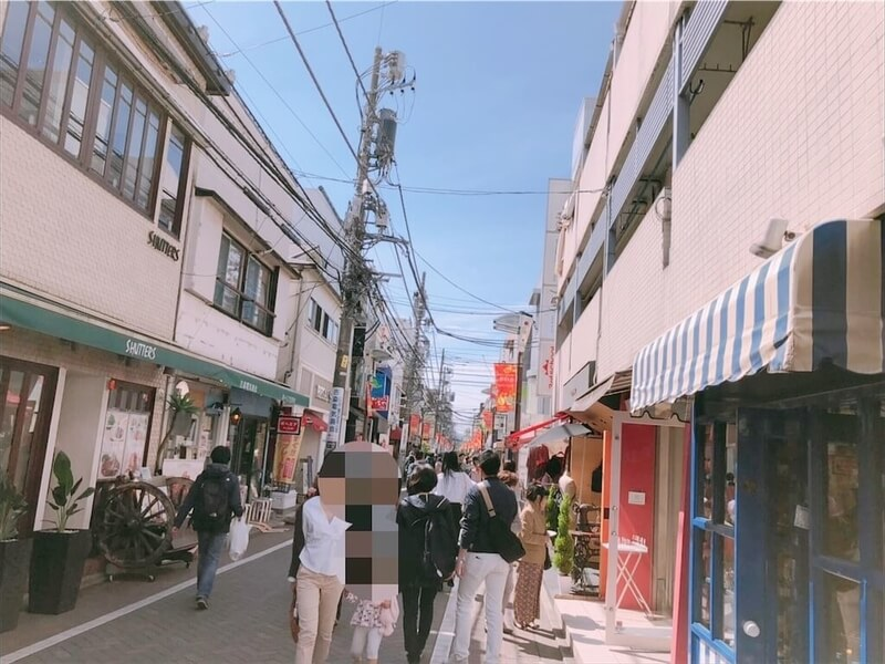 吉祥寺商店街写真