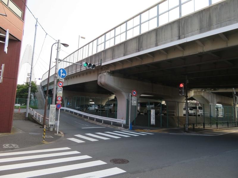 羽田神社近くの橋の写真