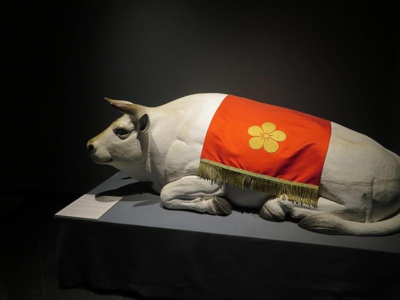 太宰府天満宮宝物殿御神牛の写真