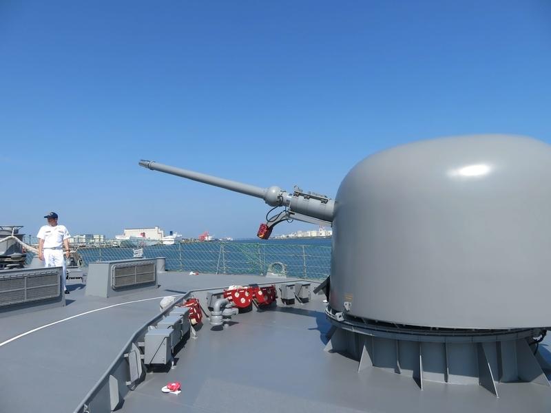 62口径76mm速射砲(76㎜ Rapid Fire)写真