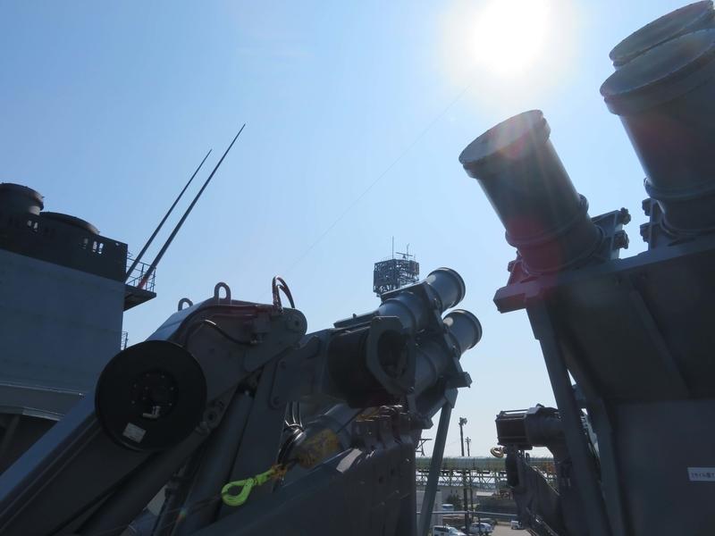 艦対艦ミサイル写真