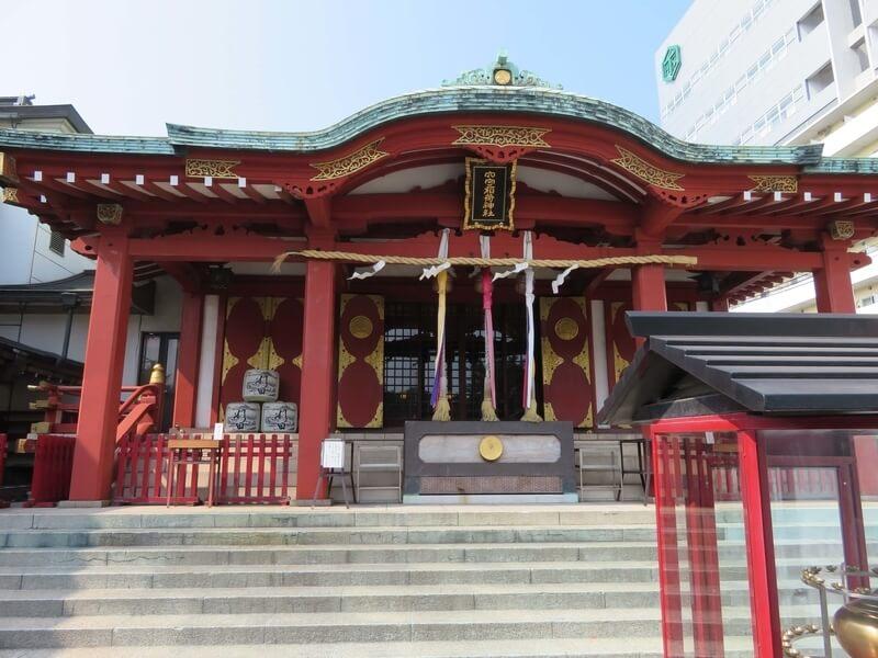 穴守稲荷拝殿の写真