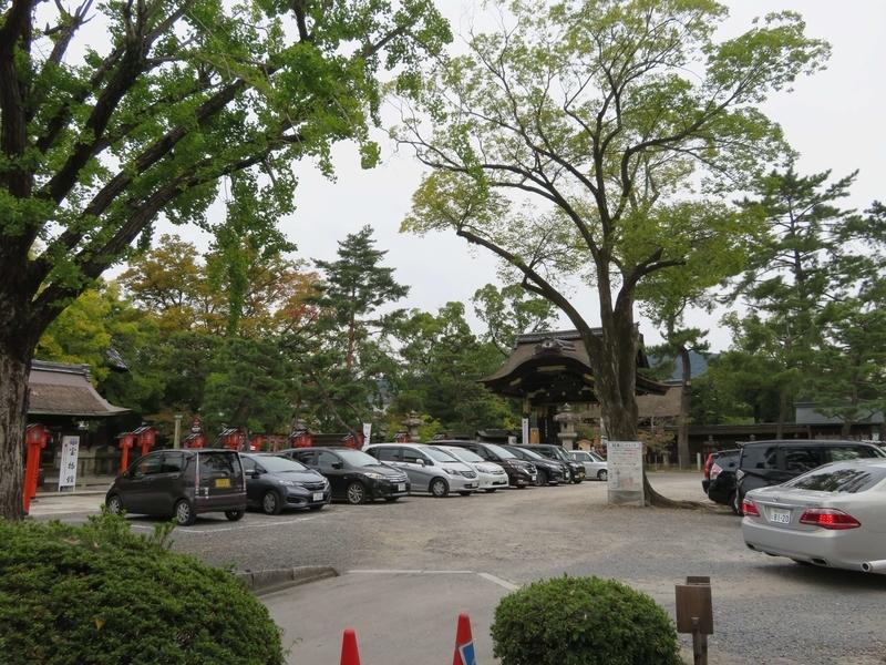 豊国神社駐車場の写真