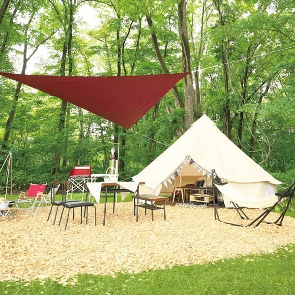 芽室嵐山オートキャンプ場グランピングの写真