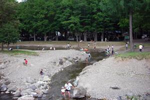 丸瀬布いこいの村キャンプ場の写真