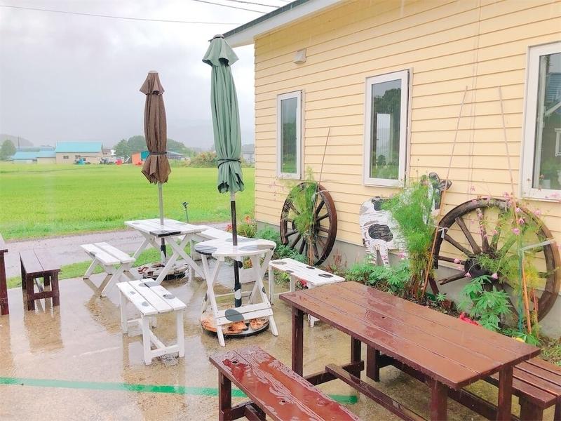 山川牧場モータウンファクトリー飲食スペース写真