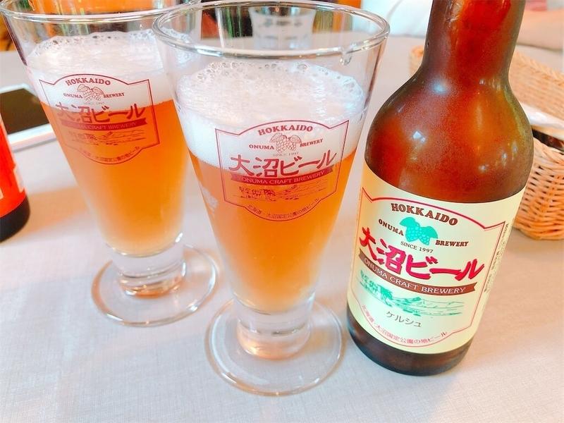 大沼ビール「ケルシュ」と「アルト」の写真