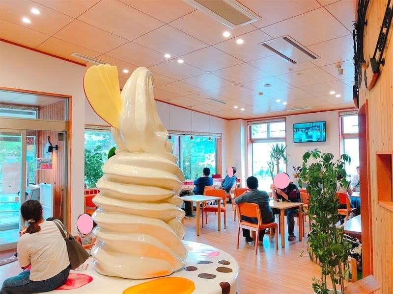 山川牧場ミルクプラント店内写真