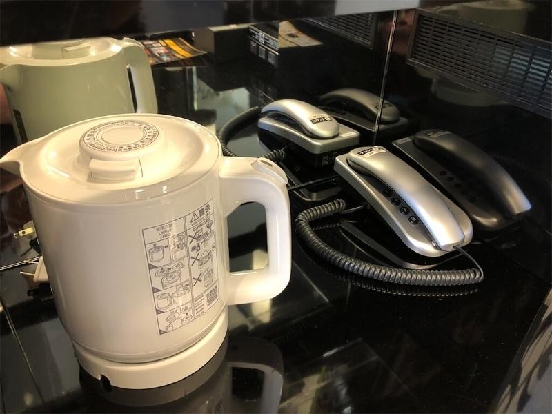 アパホテルプライド国会議事堂お茶セットの写真