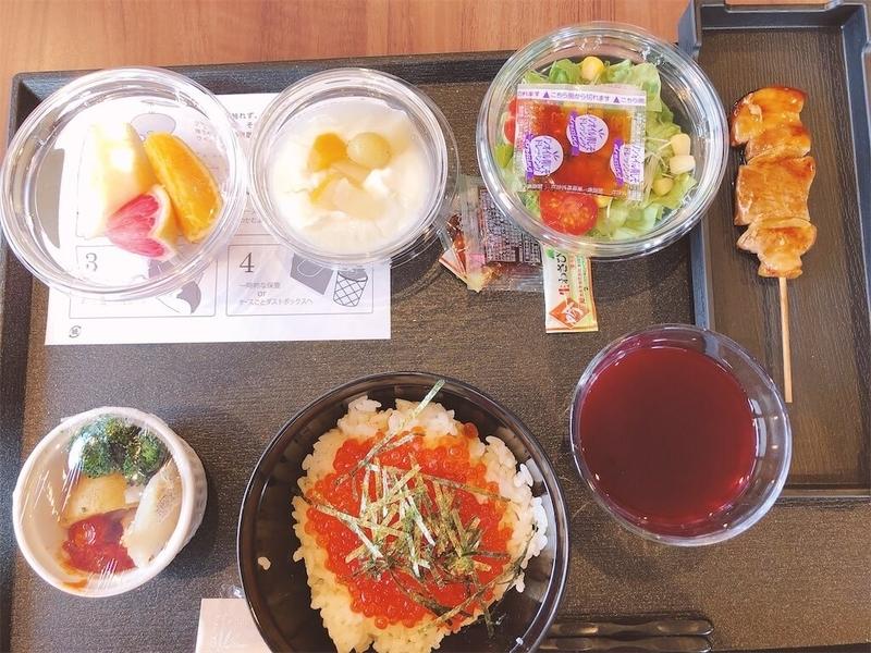 ドーミーイン東室蘭の朝食写真