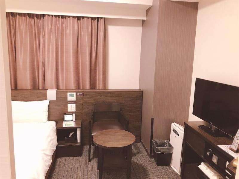 ドーミーイン東室蘭デラックスダブルの部屋の写真