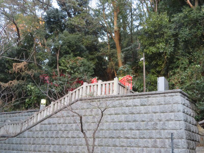 日枝神社参道の写真