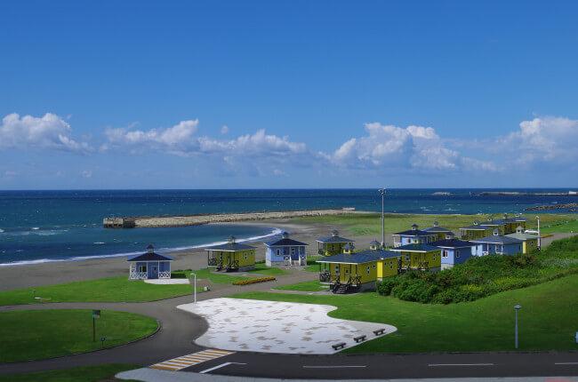 三石海浜公園オートキャンプ場写真
