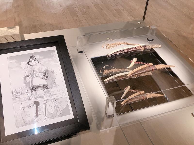 国立アイヌ民族博物館「野田サトル展」チパシカの原画写真
