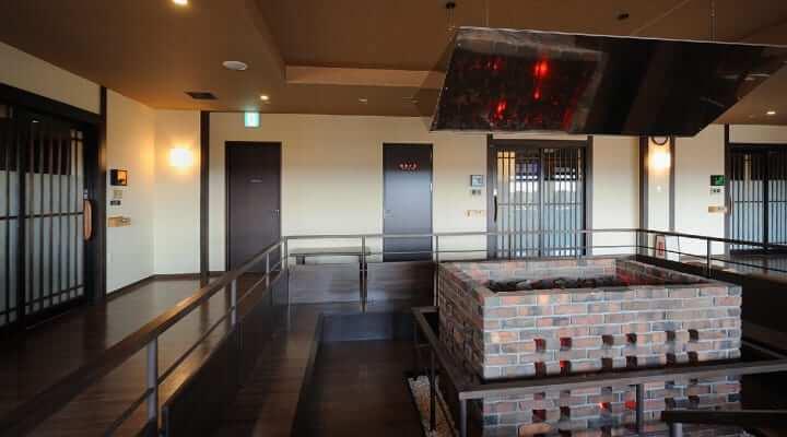 万葉の湯町田店岩盤浴場の写真