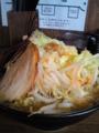 [西船橋][ラーメン]麺屋あらき竈の番人外伝のデカ盛り
