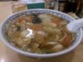 [妙典][ラーメン]中国ラーメン 華風伝@妙典の五目あんかけ麺
