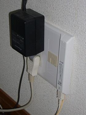 光回線接続 旧回線