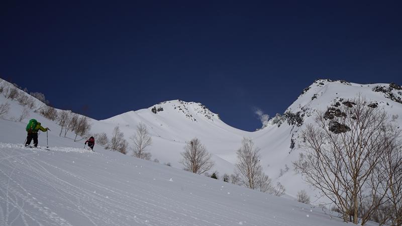 雪の百名山 焼岳