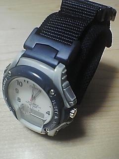 電池交換した古時計