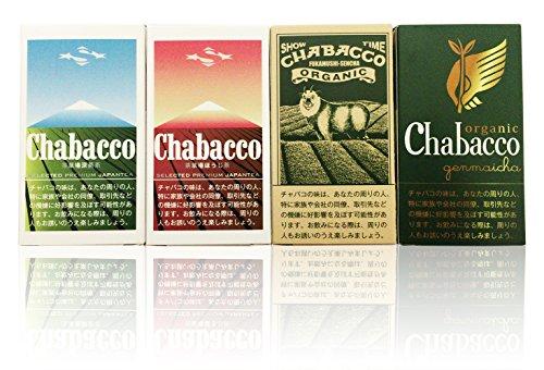【静岡茶100%使用の粉末茶】Chabacco(チャバコ) 4種セット