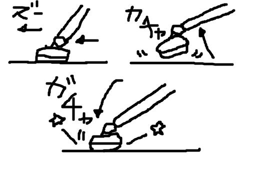 掃除機のヘッドの上げ下ろしの動作で気になる音の解説