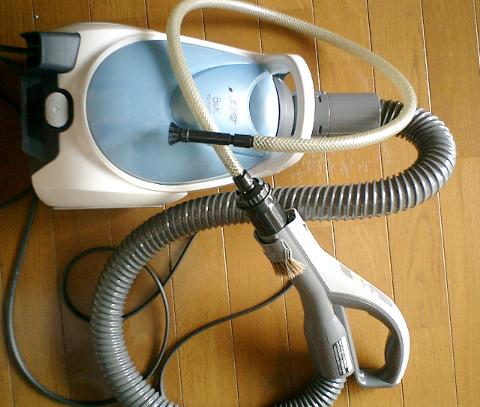 三菱製紙パック式掃除機【 Be-K 】TC-FXG5J-Aと、我が家愛用の汎用アタッチメント