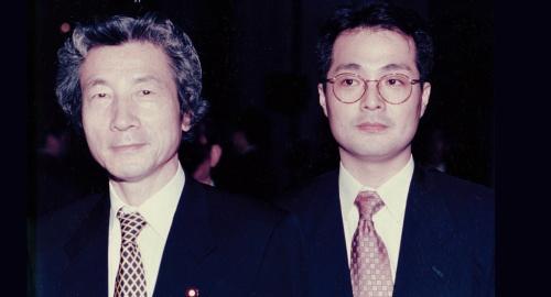 小泉純一郎会長を訪問