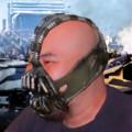 友人にベインのマスクをつけてみた(CG)
