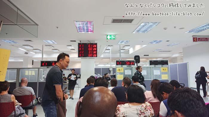 タイのイミグレでノービザ滞在延長の手続きの方法