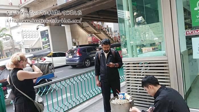 バンコクでの路上喫煙や歩きたばこ