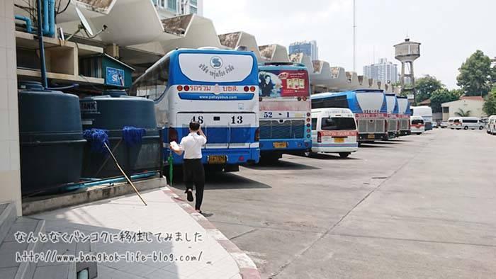 バンコクからパタヤまでバスで行く方法