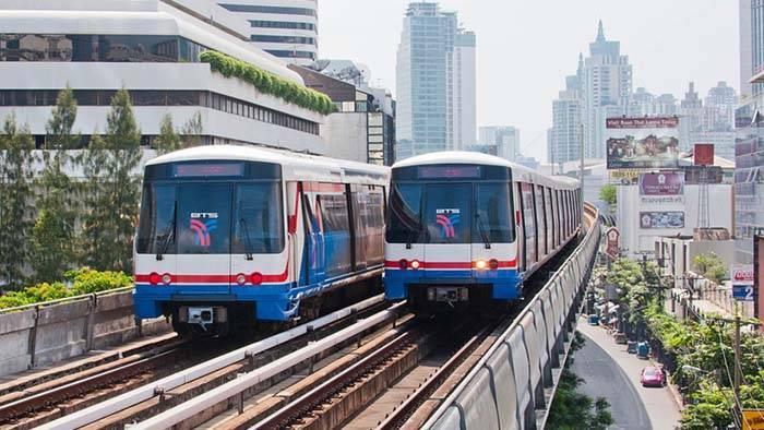 バンコクの電車 MRTとBTS