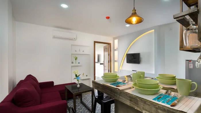 安くて豪華な僕が利用したシェムリアップの民泊 airbnb