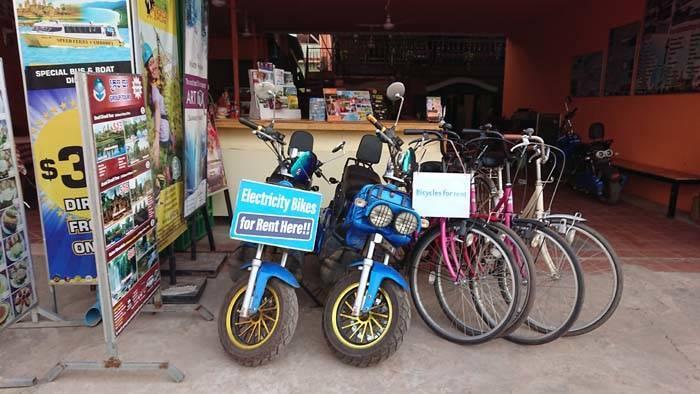 カンボジア シェムリアップでレンタルバイクを借りる方法